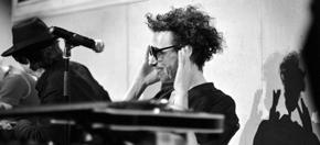 Foto von Johannes Kretz beim Poet Congress